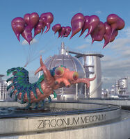 Fever the Ghost - Zirconium Meconium (2015)  CD  NEW/SEALED  SPEEDYPOST