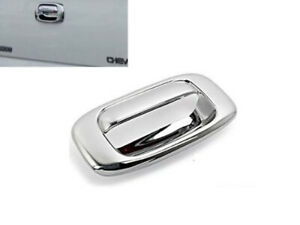 Chrome TailGate Handle Cover Covers For 99-06 Chevy Silverado / GMC Sierra 1500