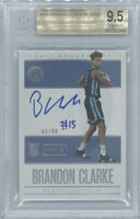 ROOKIE! 2019-20 Brandon Clarke Encased RC/AUTO (#65/99) BGS 9.5/10!