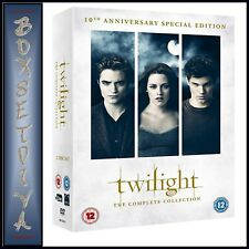 THE TWILIGHT SAGA COMPLETE COLLECTION 10TH ANNIVERSARY SPECIAL EDITION*BRAND NEW