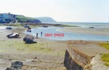 PHOTO  CARDIGAN 1994 NW VIEW FROM PARROG SANDS NEWPORT TO DINAS HEAD