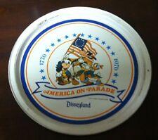 "Walt Disney, Disneyland ""America on Parade"" Tray"