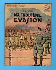 ► COLLECTION PATRIE N°76  - MA TROISIEME EVASION  - ROUFF 1949