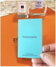 TIFFANY & CO. EDP PERFUME 1.2 ml SAMPLE SPRAY VIAL WITH CARD