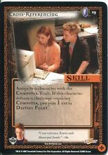Buffy TVS CCG Limited Class Of 99 Common Card #19 Cross-Referencing