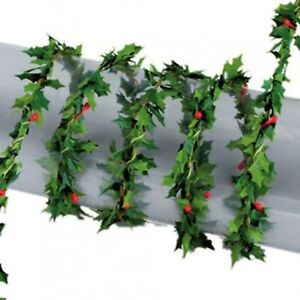 Holly Leaf With Berry Garland Tumdee Dolls House Climbing Plant 3806