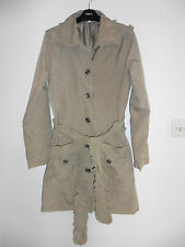 Gorgeous Beige Button Front Lined Jacket from b.young - Size Med - Lovely Cond.