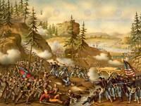 WAR AMERICAN CIVIL BATTLE CHICKAMAUGA USA NEW ART PRINT POSTER PICTURE CC5652