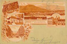 Nr.31711 PK Litho Gruss aus Rosenheim  gel 1899 Bayern