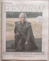 Game of Thrones Season 7 - Daily Telegraph Review – 15 July 2017