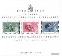 Liechtenstein Block6 (kompl.Ausg.) postfrisch 1962 50 Jahre Briefmarken