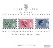 Liechtenstein Bloque 6 (edición completa) nuevo 1962 50 años sellos