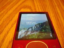 Microsoft Zune 120 Red(120 Gb) New Battery & 160gb Hdd