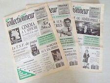"""3 numéros (1-2-3) """"La Vie du Collectionneur"""" (année 1991)"""