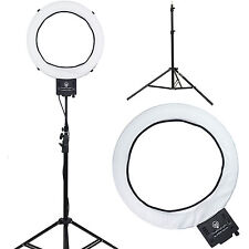 "Diva Ring Light Super Nova 18"" Dimmable Photo/Video Light with 6' Light Stand"