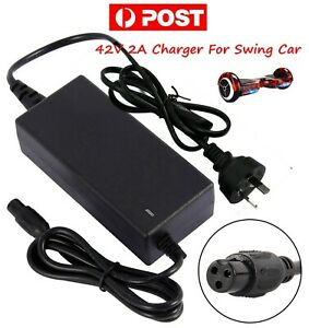 AU 42V 2A Power Supply Balancing Electric Scooter Charger Adapter For Hoverboard