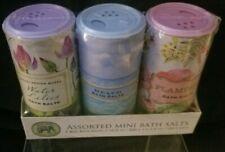 Michel Design Works Assorted Mini Bath Salts - Water Lilies, Beach, Flamingo NEW