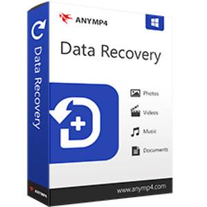 AnyMP4 Data Recovery - Full lifetime Version for 1 user