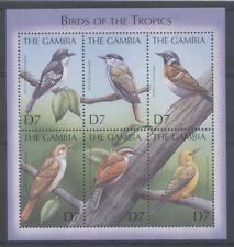OISEAU Gambie 1 bloc de 2000 ** /2 BIRD VOGEL UCCELLO