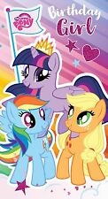 """My Little Pony MP015 """"it's Your Time to Shine Happy Birthday"""" Greeting Card"""