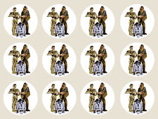 Star Wars Edible Image Icing Birthday Cupcake Cake Decoration Party Toppers