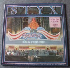 Styx, paradise theater, LP - 33 tours special laser cut design disc