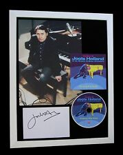 JOOLS HOLLAND+SIGNED+QUALITY FRAMED+PIANO+WENT BY=100% GENUINE+FAST GLOBAL SHIP
