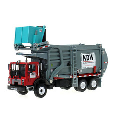 1:24 Scale Metal Transporter Garbage Truck Vehicles Toys for Boys Red