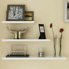 3pcs Wall Floating Shelves Set DIY Mount Book Shelf Storage Case Display Rack AU