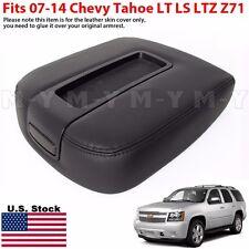 2007-2014 Chevy Tahoe LT LS LTZ Z71 Console Armrest Lid Replacement Cover BLACK