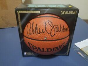 Kareem Abdul Jabbar Autographed Spalding Basketball with COA and Documentation