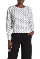 Frank and Eileen Tee Lab Womens Hi Print Crew Neck Sweatshirt Limited Edition S