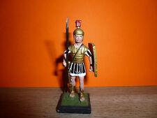 SOLDAT DE PLOMB = 1 GUERRIER ROMAIN AU PAS AVEC LANCE ET BOUCLIER