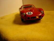 Vintage Marx Ferrari 250 GT in red slot car 1/24 offered by MTH