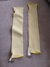 "22"" KEVLAR SLEEVE with clip CUT/HEAT RESISTANT SLEEVE 22 INCH (1 PAIR/2EACH)"
