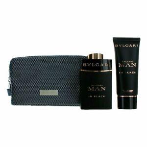 Bvlgari Man In Black Parfum Gift Set by Bvlgari  Parfum 3.4oz + After Shave Balm