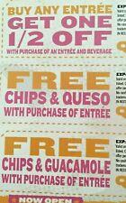 Qdoba Mexican Food Coupon Entree Guacamole Half Price valid till 4/24/2021