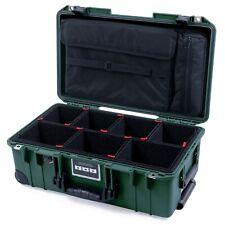 Trekking Green & Black Pelican 1535 air case - Trekpak dividers & Computer pouch