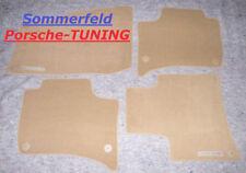 orig Porsche Cayenne 958 MK1 Velour Fußmatten floor mats Beige 7P5863011D DM5