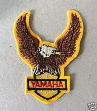 Vintage Sew-on Patch Yamaha, Eagle with Yellow Lining.