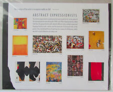 2010 44c Abstract Expressionists Sheet of 10 Scott 4444 Mint F/VF NH