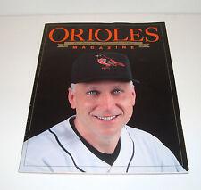 Baltimore Orioles Magazine 2001 Cal Ripken, Jr. Commemorative Edition