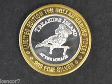 Treasure Island Silver Strike Gaming Token Nevada D5247