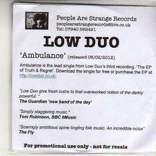 (DB149) Low Duo, Ambulance - 2012 DJ CD