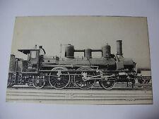 AUST101 c1900 RAAB-ODENBURG Eisenbahn LOCOMOTIVE 202 POSTCARD Austria Hungary