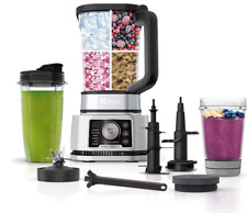 Ninja Foodi SS351 Power Blender & Processor System with Smoothie Bowl Maker and