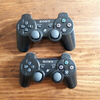 PS3 Sony PlayStation 3 Dualshock Sixaxis OEM Controller CECHZC2U Official BLACK