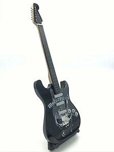 Miniature Fender Standard  Stratocaster Guitar - Motorhead (Ornamental)