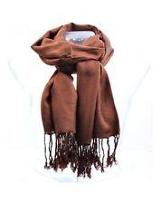 Écharpes et châles étoles marrons pour femme