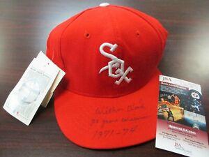 "Wilbur Wood ""20 Game Winner"" JSA Authentic Autographed Chicago White Sox Cap !!!"